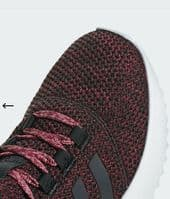 adidas CloudFoam Ultimate Women's Trainers Black Burgundy BB7752 Brand New Boxed